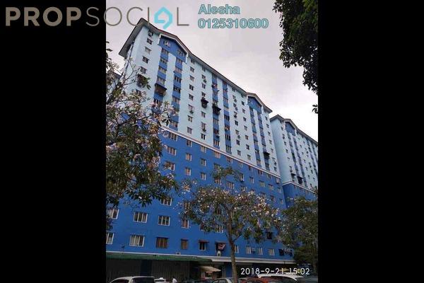 For Sale Apartment at Sri Rakyat Apartment, Bukit Jalil Freehold Unfurnished 0R/0B 200k