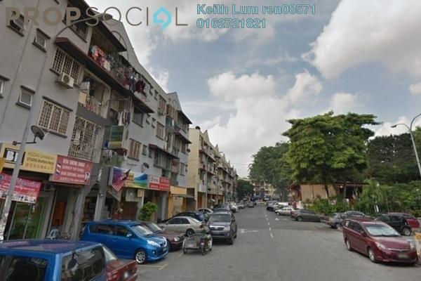 For Rent Shop at Taman Sri Kuching, Jalan Ipoh Freehold Unfurnished 1R/1B 3.5k