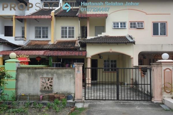 For Sale Terrace at Taman Skudai Baru, Skudai Freehold Unfurnished 4R/3B 425k
