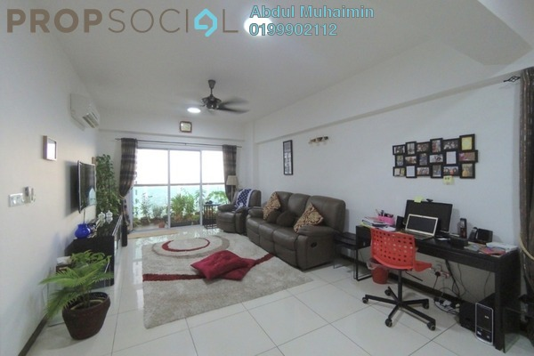 For Sale Condominium at Villa Orkid, Segambut Freehold Fully Furnished 3R/4B 730k