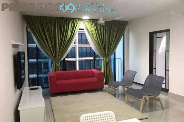 For Sale Condominium at Trefoil, Setia Alam Freehold Fully Furnished 2R/2B 518k