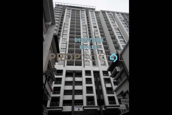 For Sale Serviced Residence at Zenith Residences, Kelana Jaya Freehold Fully Furnished 3R/2B 600k