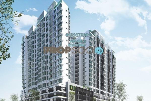 For Sale Condominium at KU Suites, Kemuning Utama Freehold Semi Furnished 3R/2B 580k