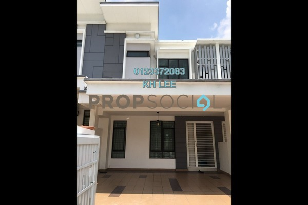 For Rent Terrace at Setia Indah, Setia Alam Freehold Semi Furnished 4R/4B 1.7k