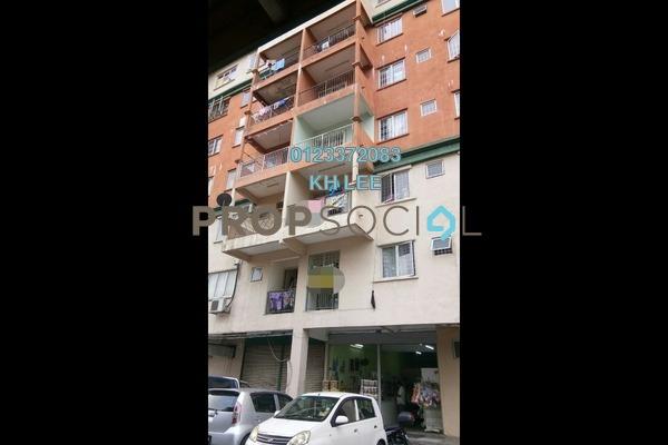 For Sale Apartment at Golden Villa, Klang Freehold Unfurnished 3R/2B 149k