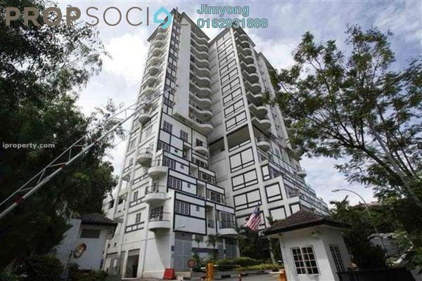 For Rent Condominium at Bukit Robson Condominium, Seputeh Freehold Fully Furnished 1R/1B 1.8k
