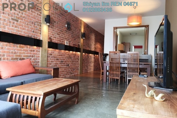 For Rent Condominium at The Tamarind, Sentul Freehold Fully Furnished 4R/3B 2.4k