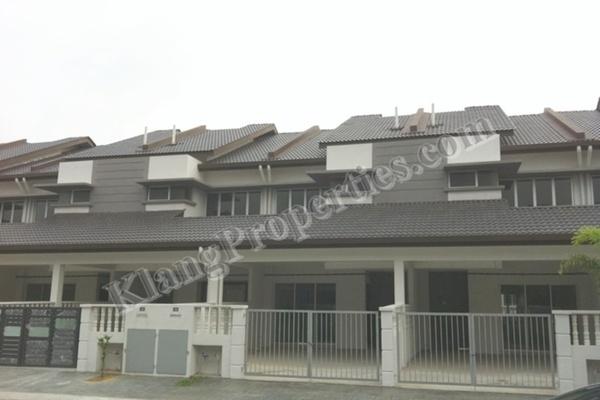 For Sale Terrace at Taman Sentosa Perdana, Klang Freehold Unfurnished 4R/3B 525k