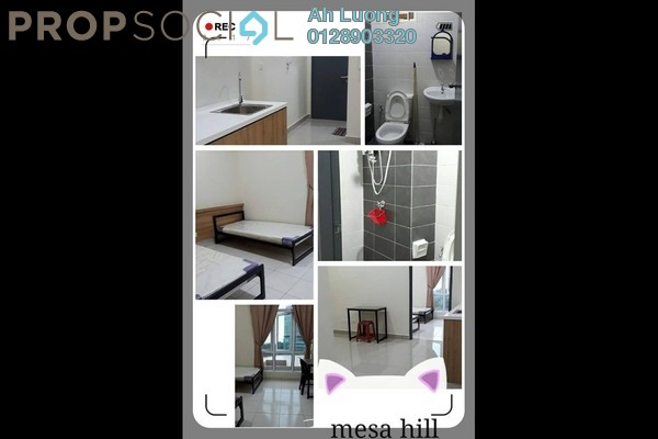For Rent SoHo/Studio at MesaHill, Putra Nilai Freehold Fully Furnished 1R/1B 850translationmissing:en.pricing.unit