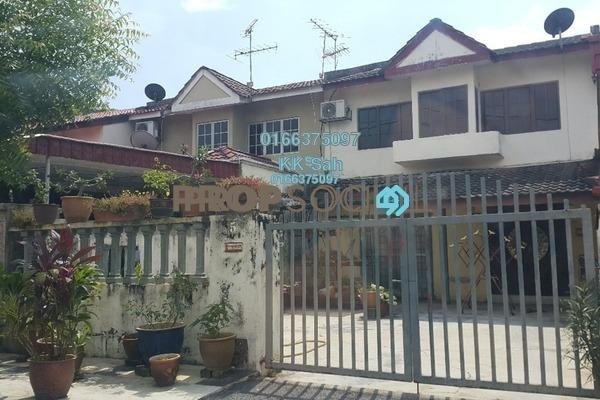 For Sale Terrace at Taman Menara Maju, Klang Freehold Semi Furnished 4R/2B 388k