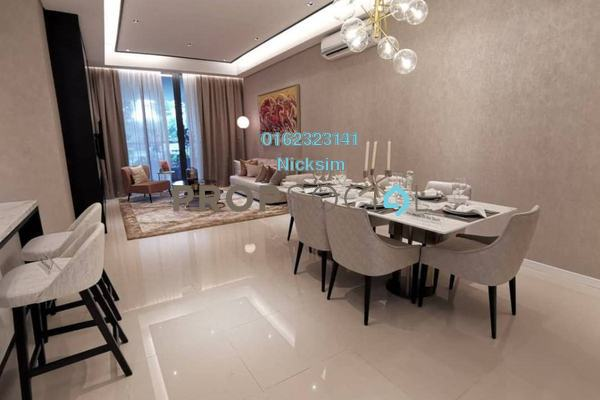 For Sale Serviced Residence at KL Gateway, Bangsar South Freehold Semi Furnished 2R/2B 580k