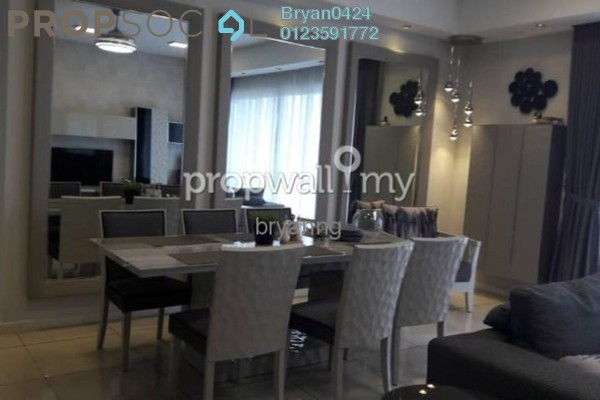 For Rent Condominium at EcoSky, Jalan Ipoh Freehold Fully Furnished 3R/3B 3.6k