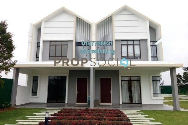 For Sale Terrace at Meridin East, Pasir Gudang Freehold Unfurnished 4R/3B 487k