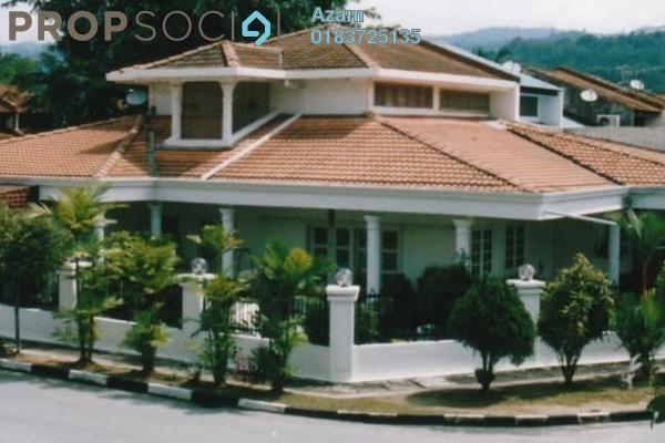 For Sale Terrace at Taman Keramat, Setiawangsa Leasehold Semi Furnished 4R/2B 1.5m