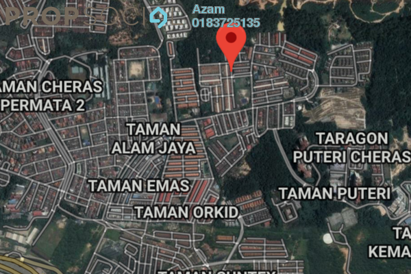 For Sale Land at Taman Wangsa Cheras, Batu 9 Cheras Freehold Unfurnished 1R/1B 999k