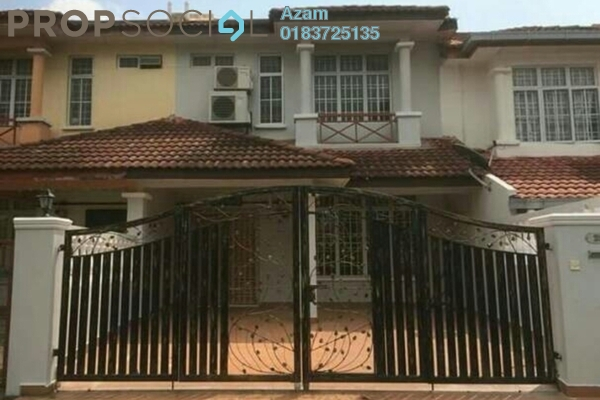 For Sale Terrace at Section 2, Bandar Mahkota Cheras Freehold Semi Furnished 4R/3B 530k