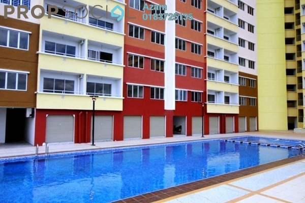 For Sale Apartment at Alam Prima, Shah Alam Freehold Semi Furnished 3R/2B 333k