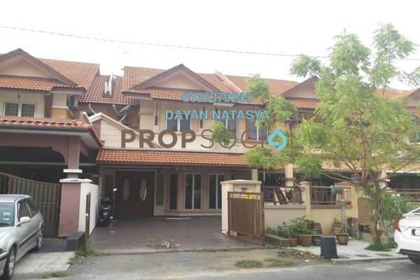 For Sale Terrace at Jalan Az-zaharah, Puncak Alam Freehold Semi Furnished 4R/3B 440k