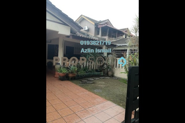 For Sale Terrace at Taman Alam Megah, Shah Alam Freehold Semi Furnished 3R/2B 610k