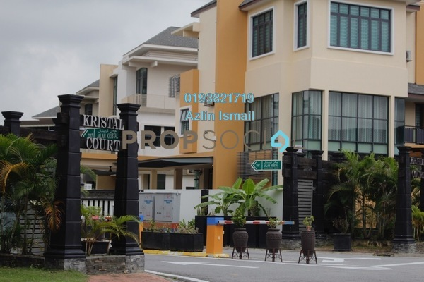 For Sale Bungalow at Kristal Court, Shah Alam Freehold Semi Furnished 7R/7B 3.5m