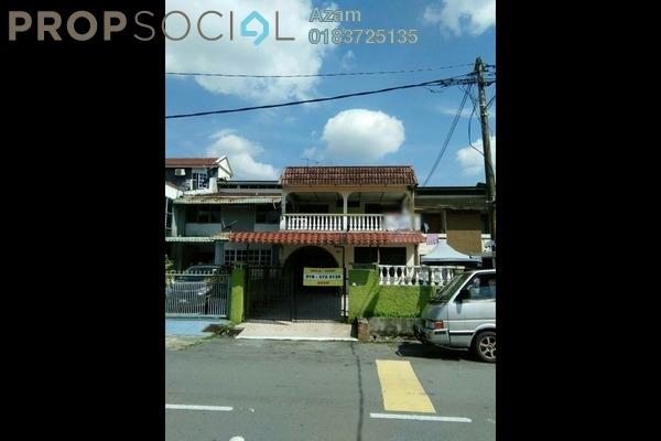For Sale Terrace at Taman Keramat, Setiawangsa Leasehold Semi Furnished 4R/4B 715k