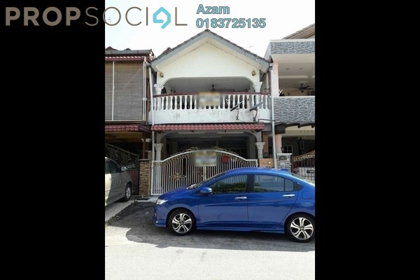 For Sale Terrace at Taman Cuepacs, Batu 9 Cheras Freehold Semi Furnished 4R/3B 425k