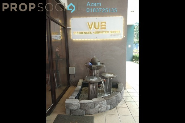 For Sale Serviced Residence at Vue Residences, Titiwangsa Freehold Semi Furnished 3R/2B 750k