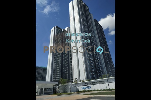 For Rent Condominium at LakeFront Residence, Cyberjaya Freehold Fully Furnished 3R/2B 1.65k