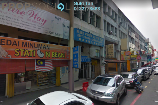 For Sale Shop at Taman Pertama, Cheras Freehold Unfurnished 0R/0B 3.1m