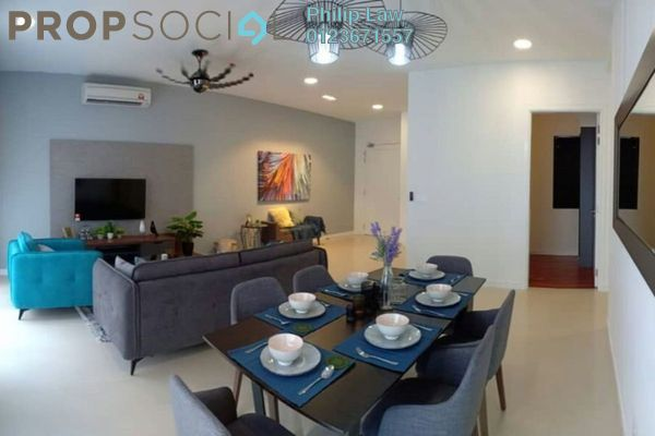 For Rent Condominium at Pavilion Hilltop, Mont Kiara Freehold Fully Furnished 3R/2B 5.1k