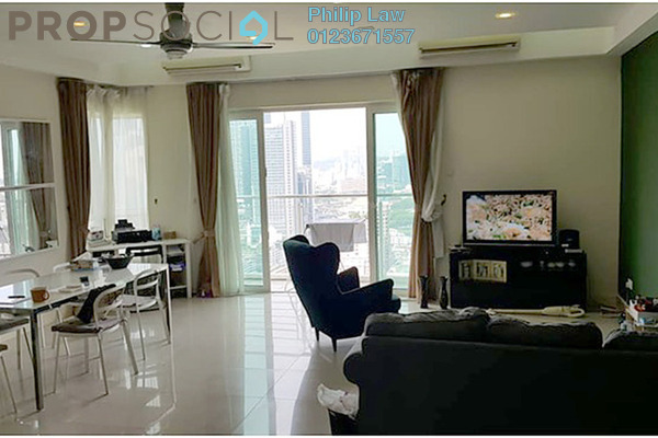 For Sale Condominium at Gaya Bangsar, Bangsar Freehold Semi Furnished 3R/3B 1.4m