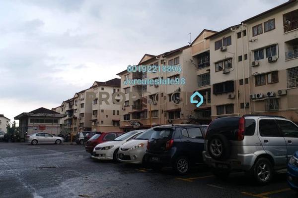 For Sale Apartment at Sri Cempaka Apartment, Bandar Puchong Jaya Freehold Unfurnished 3R/2B 252k