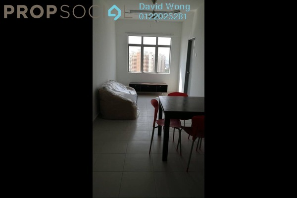 For Rent Serviced Residence at South City Plaza, Seri Kembangan Freehold Fully Furnished 1R/1B 1k