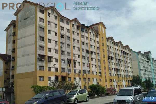 For Sale Apartment at Enggang Apartment, Bandar Kinrara Freehold Unfurnished 0R/0B 180k