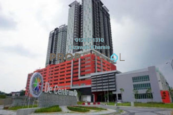 For Sale Serviced Residence at De Centrum Residences, Kajang Freehold Fully Furnished 2R/1B 350k