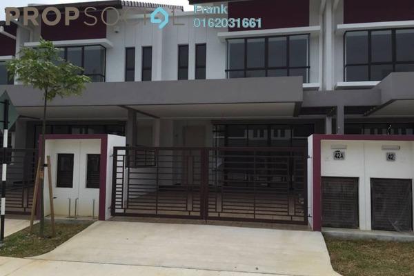 For Rent Terrace at Cogan, Bandar Bukit Raja Freehold Unfurnished 4R/3B 1.5k