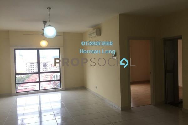 For Rent Condominium at Pelangi Damansara Sentral, Mutiara Damansara Freehold Semi Furnished 1R/1B 1.2k