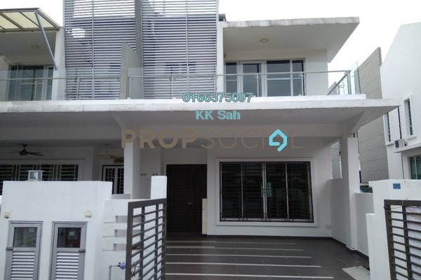 For Sale Terrace at SL8, Bandar Sungai Long Freehold Semi Furnished 4R/3B 720k