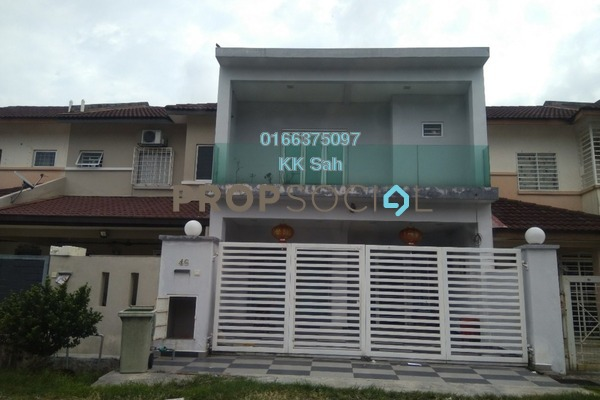 For Sale Link at Section 2, Bandar Mahkota Cheras Freehold Fully Furnished 4R/4B 660k