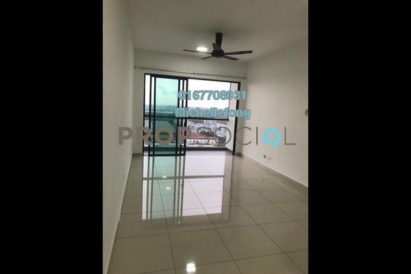 For Rent Serviced Residence at The Raffles Suites, Johor Bahru Freehold Semi Furnished 3R/2B 1.7k