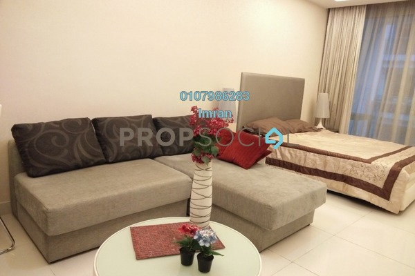 For Rent Serviced Residence at Cliveden, Sri Hartamas Freehold Fully Furnished 0R/1B 1.7k