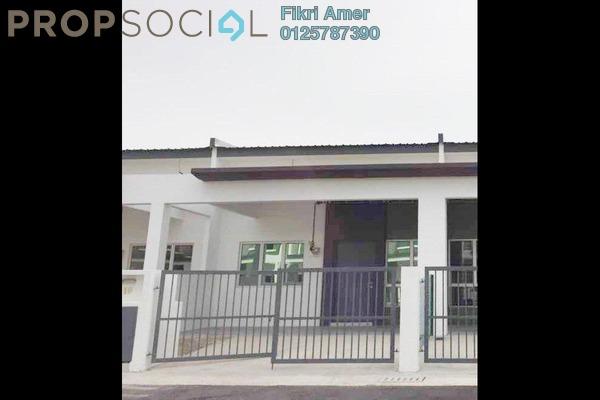 For Sale Terrace at Kampung Baharu Labu Lanjut, Sepang Freehold Unfurnished 3R/3B 385k