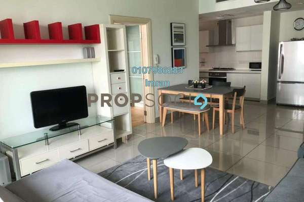 For Rent Serviced Residence at Solaris Dutamas, Dutamas Freehold Fully Furnished 1R/1B 3k