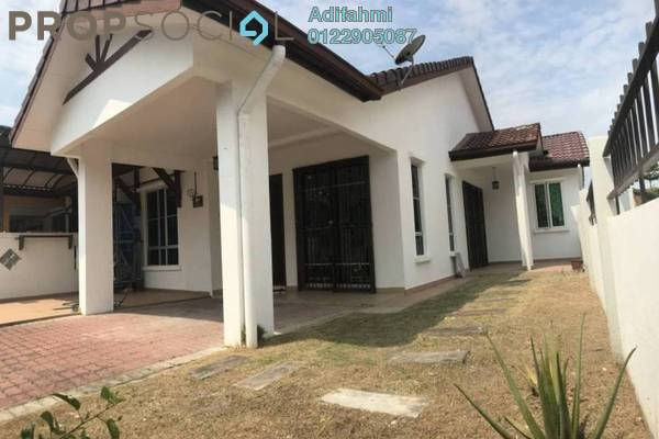 For Sale Terrace at Nobat, Bandar Bukit Raja Freehold Semi Furnished 3R/2B 569k