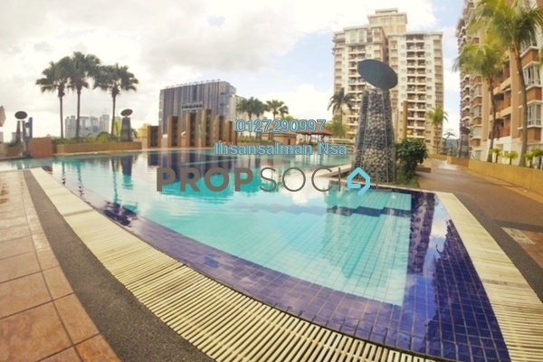 For Sale Condominium at Ampang Boulevard, Ampang Freehold Semi Furnished 3R/2B 430k