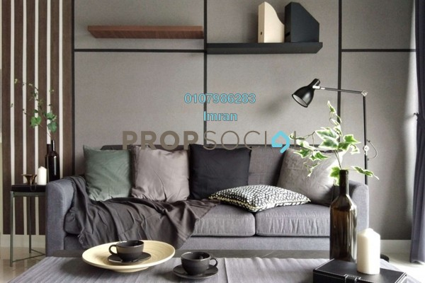 For Rent Condominium at Reflection Residences, Mutiara Damansara Freehold Fully Furnished 3R/2B 4.5k