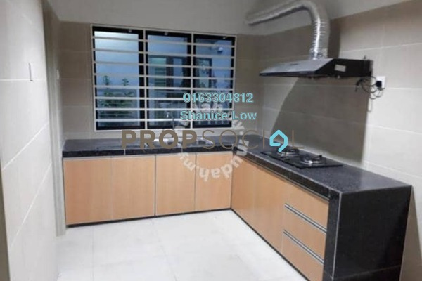 For Rent Terrace at Lakeside Residences, Puchong Freehold Semi Furnished 4R/3B 2k