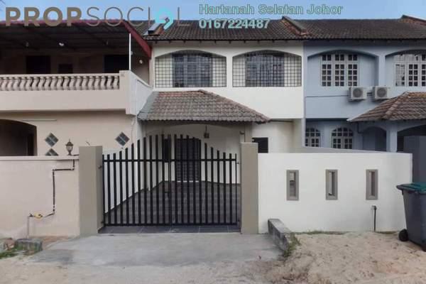 For Sale Terrace at Taman Skudai Baru, Skudai Freehold Unfurnished 4R/3B 390k