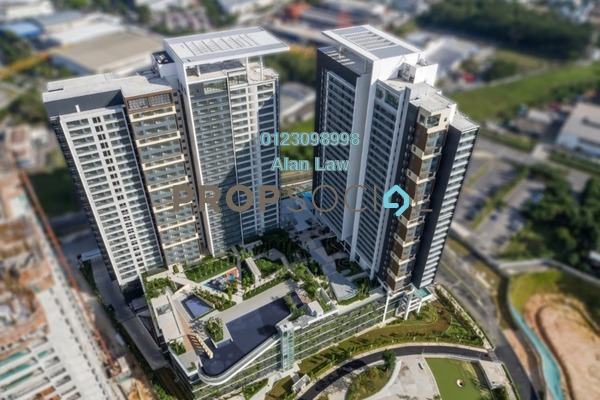 For Rent Serviced Residence at Tropicana Metropark, Subang Jaya Freehold Semi Furnished 0R/1B 1.2k