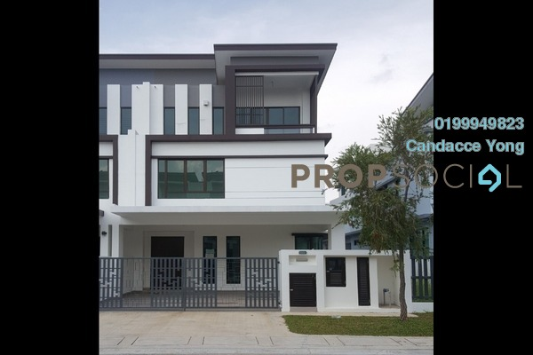 For Rent Semi-Detached at Montana, Setia Alam Freehold Unfurnished 4R/4B 1.8k